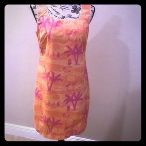 Lily Pulitzer sunset sheath dress size 6